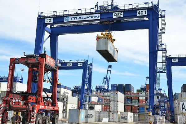 El puerto de Algeciras disminuye un 4,8% el tráfico de mercancías hasta mayo