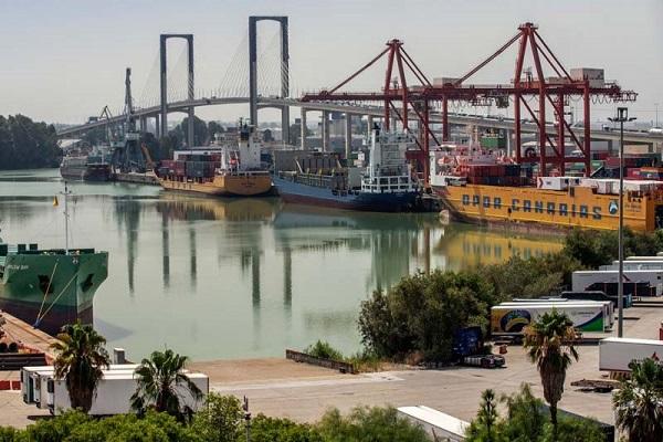 El puerto de Sevilla presenta su Plan de reactivación económica