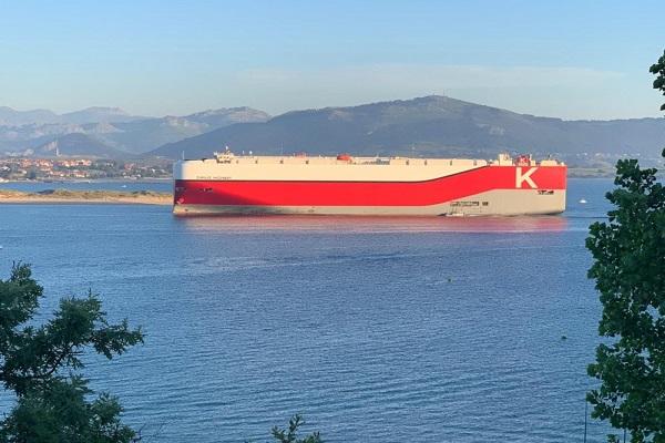 K-Line Car Carrier reinicia sus operaciones en puerto de Santander