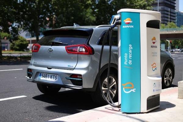 Kia Repsol movilidad eléctrica