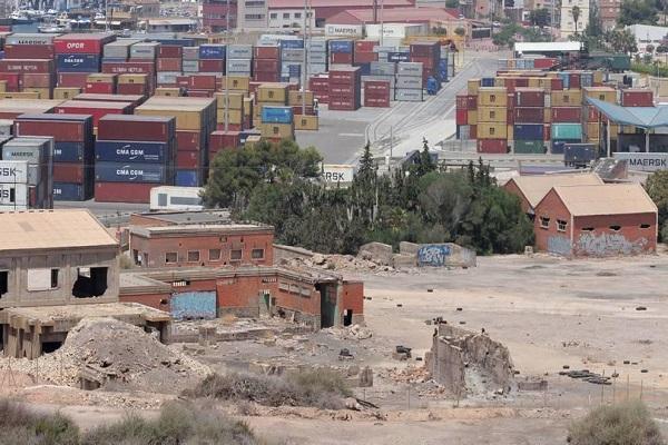 La Autoridad Portuaria de Cartagena mejora las condiciones ambientales de Peñarroya