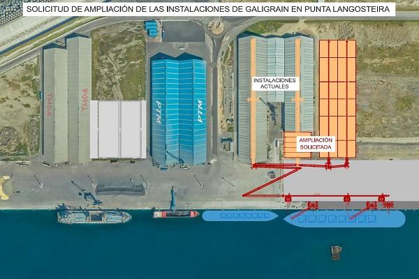 La terminal de graneles más moderna de España estará en Punta Langosteira