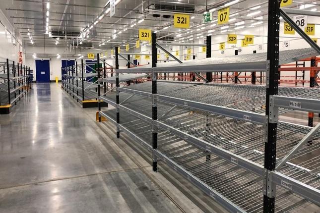 Polypal aporta sus estanterías para picking al almacén de Mercadona en Getafe