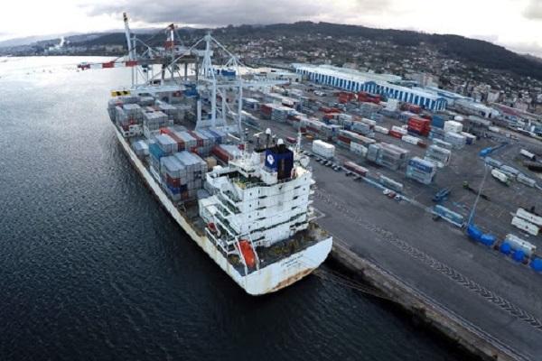 Puerto La Coruña aumenta casi un 26% el tráfico de mercancías en abril