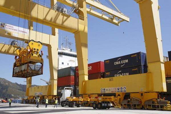 Puerto de Ferrol estrena nueva línea regular con Reino Unido