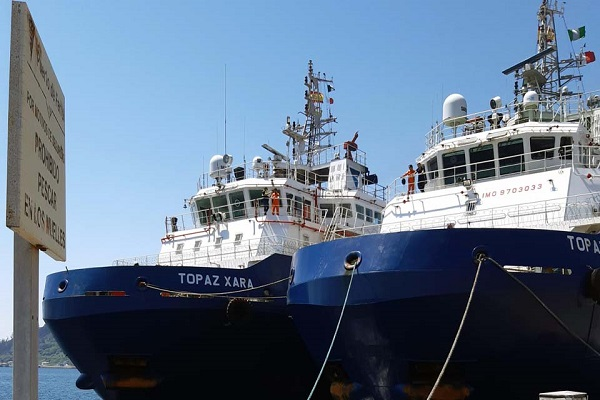 Puerto de Ferrol recibe seis grandes remolcadores oceánicos
