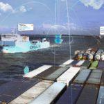 Puerto de Rotterdam emplea drones para enviar suministros a barcos