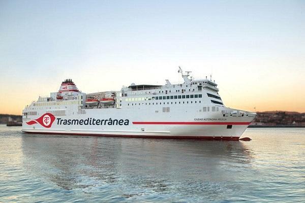 Puertos de Almería y Melilla recibirán ocho servicios de ferry hasta este domingo