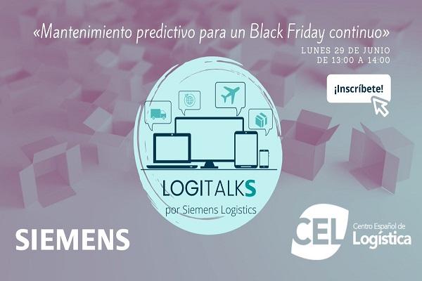 Siemens Logistics organiza un webinar sobre el mantenimiento predictivo para Black Friday
