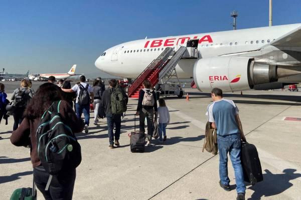 españa vuelos pasajeros