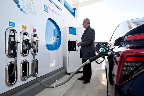 hidrogenno combustible