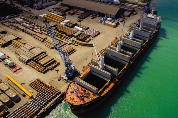 movilización portuaria en México