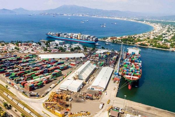 puertos mexico mercancias
