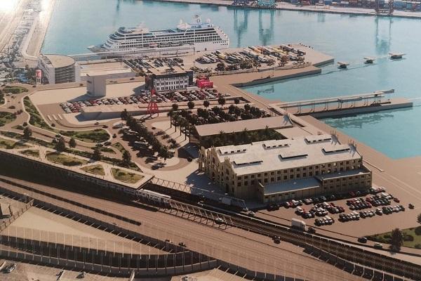 Baleària es la única que aspira a construir la terminal de pasajeros de Valencia