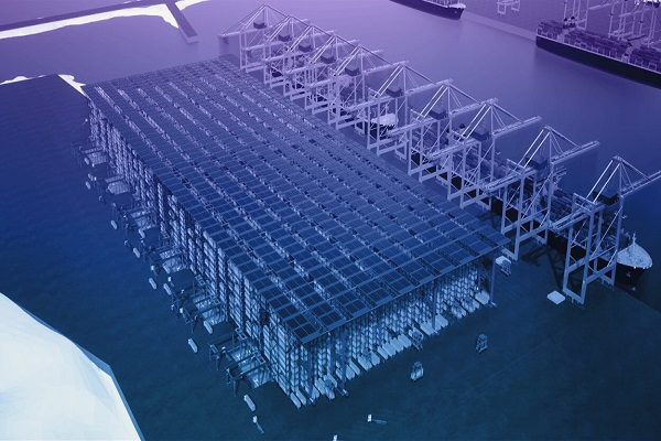 DP World instala su sistema de almacenamiento de contenedores de 11 niveles