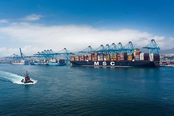 El puerto de Algeciras canaliza más de 53 millones de toneladas hasta junio