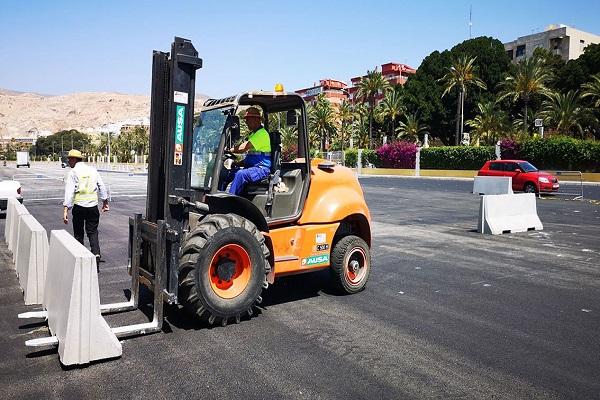 El puerto de Almería se prepara ante una posible Operación Paso del Estrecho