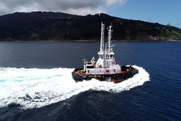 El puerto de Bilbao, escenario de pruebas para nuevo remolcador dual