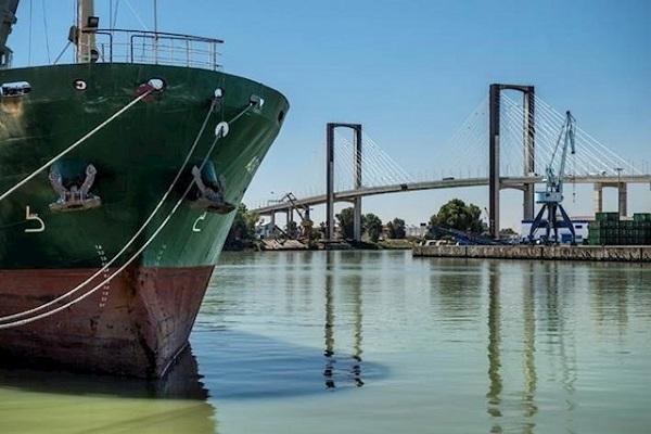 El puerto de Sevilla inicia la segunda fase de habilitación del muelle Armamento