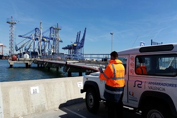 El puerto de Valencia otorga el estudio de amarre para muelle de contenedores