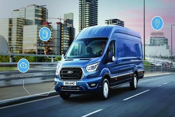 Ford mejora la conectividad en su serie de vehículos comerciales