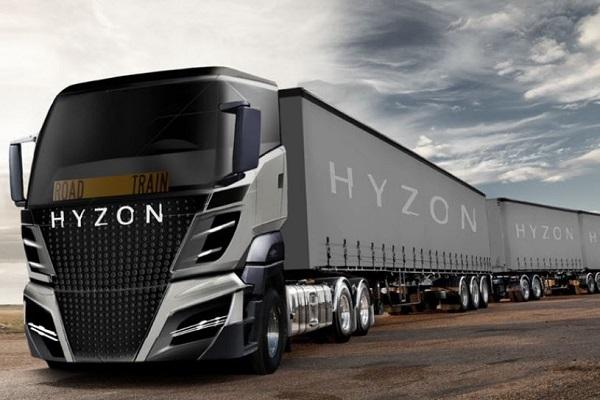 Hyzon camión hidrógeno