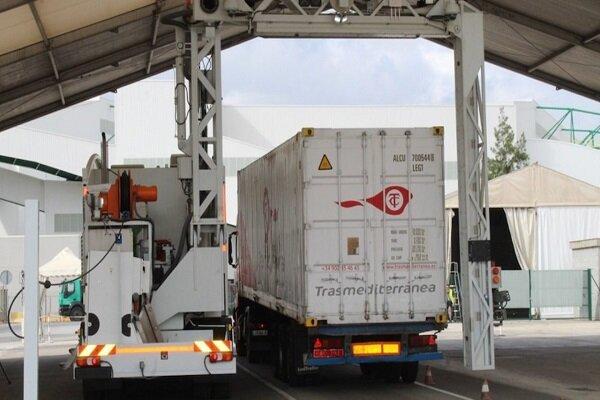 La Autoridad Portuaria de Barcelona prueba su escáner con vehículos de Trasmediterránea