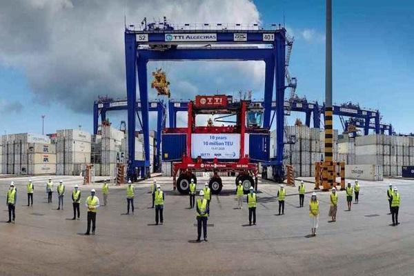 La terminal TTI Algeciras conmemora su décimo aniversario
