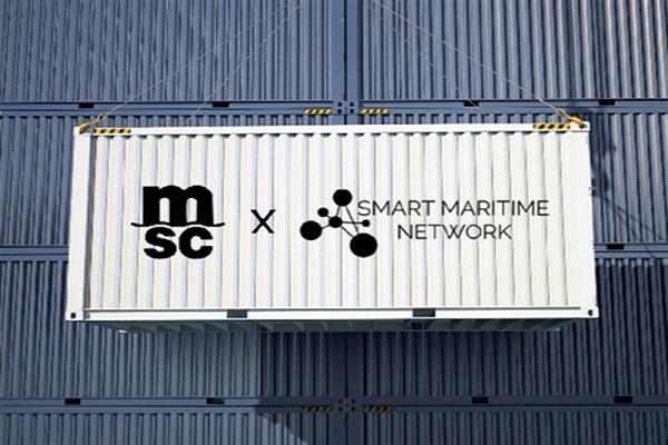 MSC mejora la colaboración digital con Smart Maritime Network