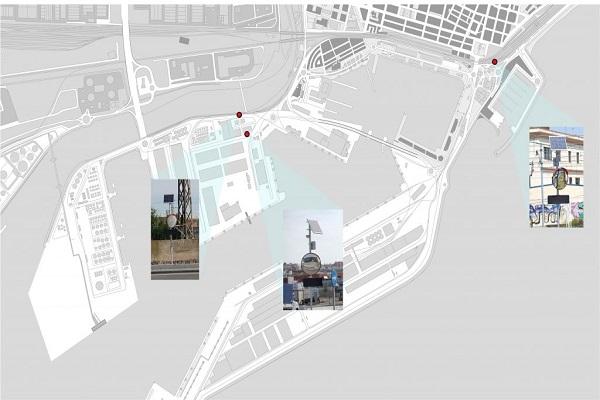 Nuevas señales de cruce inteligente en el puerto de Tarragona