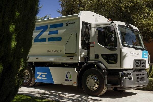 Urbaser Renault Trucks camión eléctrico