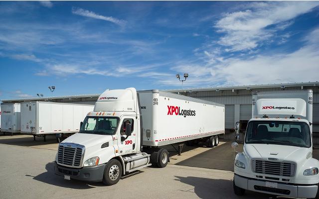 camiones de xpo logistics