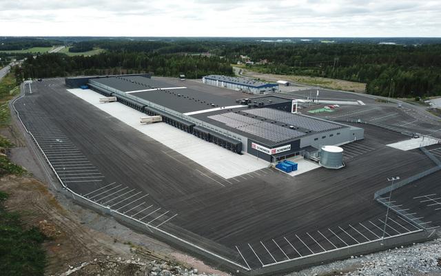 nueva terminal de db schenker en finlandia