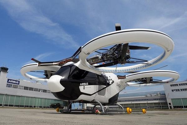 helicóptero eléctrico CityAirbus