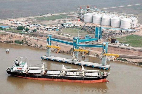 soja puertos argentina