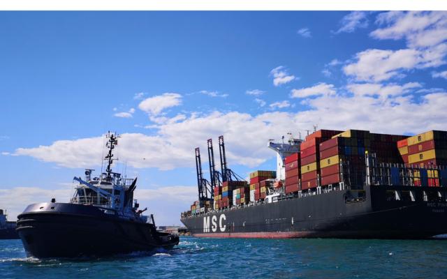 bruselas ayudara a la electrificacion del puerto de valencia