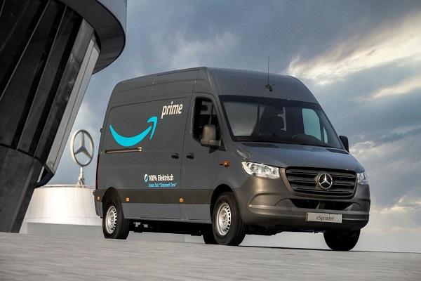 Amazon furgonetas eléctricas Mercedes-Benz