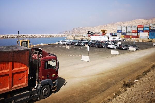 El puerto de Almería estrena su nueva explanada ganada al mar