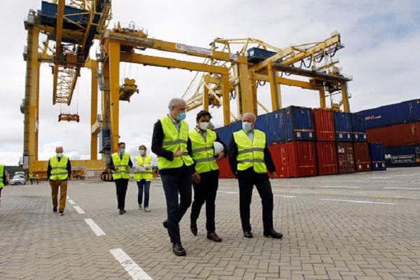 El puerto de Ferrol aumenta el tránsito de contenedores con sus líneas de Containerships