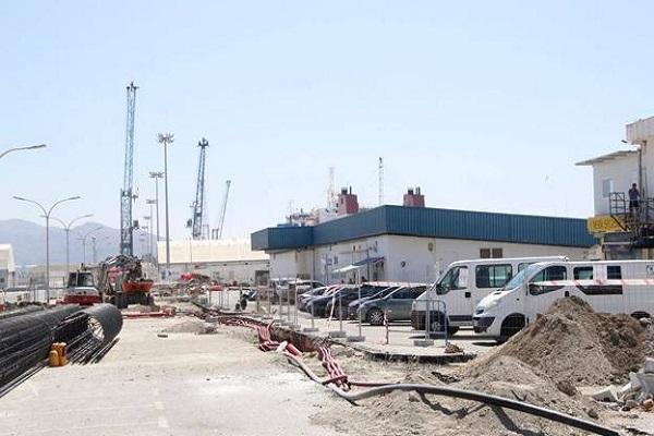 El puerto de Motril avanza en la remodelación del muelle pesquero