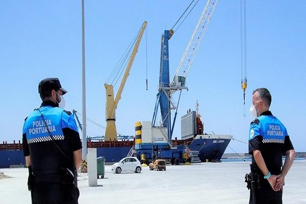 El puerto de Motril ya cuenta con los protocolos de prevención y seguridad