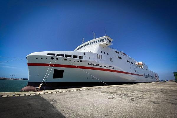 El puerto de Tenerife, escenario para la presentación del ferry Ciudad de Valencia