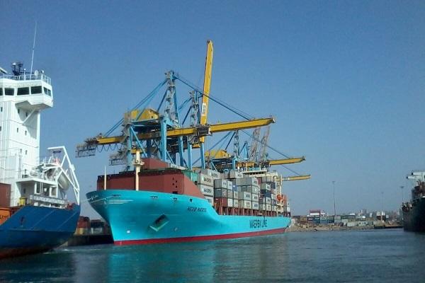 Maersk realiza su primera escala en el Puerto de Huelva