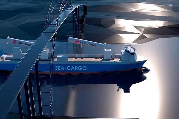 Norsepower instala dos rotores que ahorran un 25% de CO2 en buques