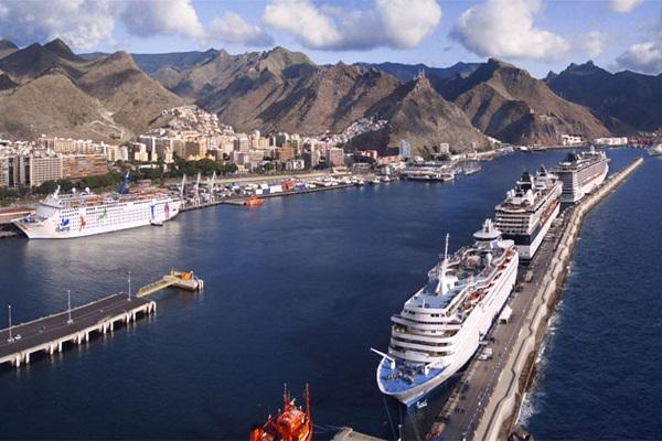Puertos dependientes de Tenerife bajan un 10,2% el tráfico hasta julio