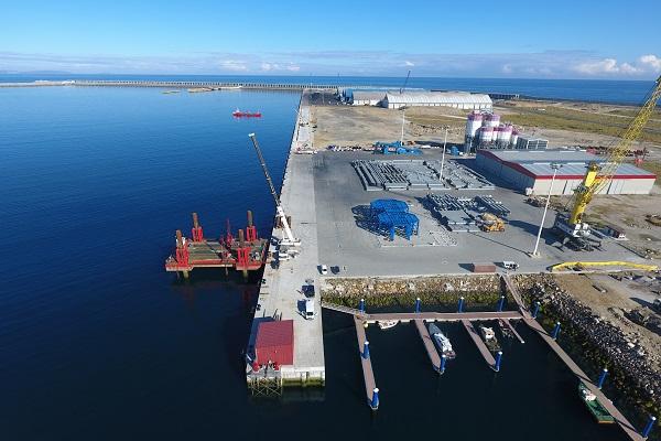 El puerto La Coruña estrena su nuevo tramo de muelle en Puerto Exterior