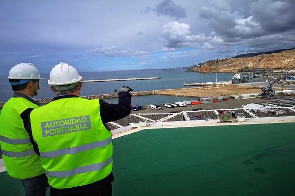 El puerto de Almería otorga la ampliación del muelle Pechina