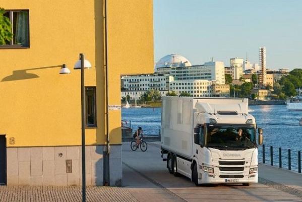 Scania camiones eléctricos