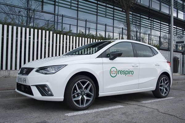 carsharing Respiro Madrid