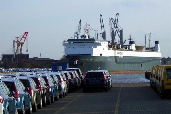 panama puertos vehiculos